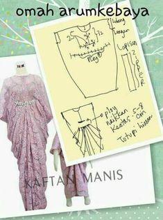 Dress brokat anak muslim Ideas, - Dress brokat anak muslim Ideas, Source by - Dress Sewing Patterns, Sewing Patterns Free, Clothing Patterns, Sewing Tutorials, Skirt Sewing, Sewing Clothes, Diy Clothes, Mode Batik, Kaftan Pattern