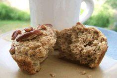 Muffins à la poire et aux lentilles
