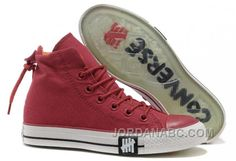 www.jordanabc.com... UNDEFEATED WINE RED CONVERSE HIGH TOPS ALL STAR CANVAS CLEAR RUBBER SOLES Only $59.00 , Free Shipping!