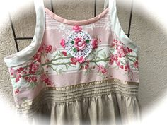 Cherry Blossom Jumper/ Dress Prairie Sweetheart Cowgirl by IzzyRoo
