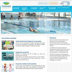 Réalisation du site Internet de la Communauté de Communes Sud Estuaire http://www.cc-sudestuaire.fr