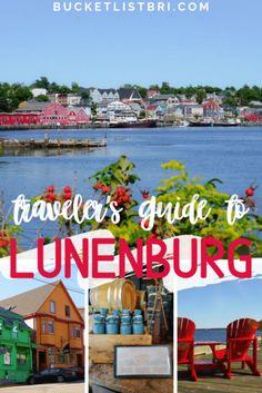 Travel Guide to Exploring Historic Lunenburg, Nova Scotia - Bucketlist Bri Lunenburg Nova Scotia, East Coast Canada, Nova Scotia Travel, Canadian Travel, Canadian Rockies, Atlantic Canada, Travel Oklahoma, New York Travel, World Heritage Sites