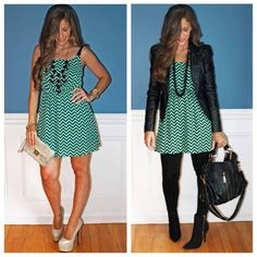 charlotte russe - sundress summer to fall (BLOGGER STACY)
