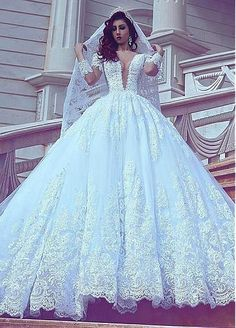 Long sleeve sheer wedding dresses because of wedding dress design. Discount 2018 lace middle east wedding dresses with long sleeves in accord with popular wedding dress ornaments. Fit and flare wedding dress by long sleeve sheer wedding dresses. Wedding Dress Silk, Wedding Dress Tea Length, Fancy Wedding Dresses, Wedding Dress Train, Luxury Wedding Dress, Princess Wedding Dresses, Elegant Wedding Dress, Bridal Dresses, Lace Wedding
