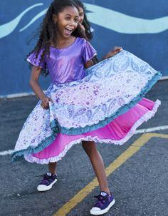 Looking for a purple dress girls?  This cute style is reversible!!! $78 #purple-dress-girls http://www.twirlygirlshop.com/dress-flower-girl