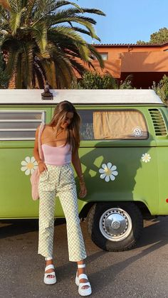 Cute Summer Outfits, Cute Casual Outfits, Spring Outfits, Spring Summer Fashion, Vintage Summer Outfits, Winter Outfits, Summer Dresses, Foto Pose, Tips Belleza