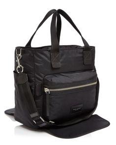 8934ddde59bd MARC JACOBS Biker Nylon Diaper Bag Handbags - Bloomingdale s