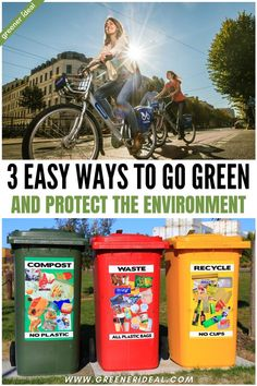 In recent years, more and more waste is ending up on streets, the oceans and rivers, and even the air we breathe. You'd be surprised how much a simple action, such as throwing plastic in the ocean, affects the environment. In contrast, taking a simple precautionary act, like recycling, can have a positive effect. Here are a few ways you can go green and protect the environment. #gogreen #greenlivingtips #ecofriendly #environment #recycle #plasticfree #zerowaste Green Living Tips, No Plastic, Go Green, Sustainable Living, Climate Change, Helping People, Sustainability, Eco Friendly, Recycling