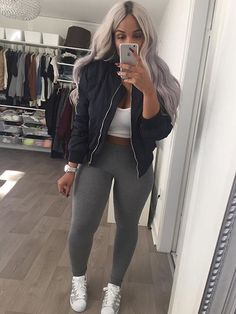 624faf77c865f So in 💙 with this bomber   leggings!