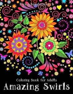 Featuring 24 designs, this adult coloring book with floral and animal swirl patterns is an Amazon best-seller. What makes it ideal for most novice colorists is the fact that each design is detailed but not overly intricate. In fact, even kids could complete some of the designs in the book.