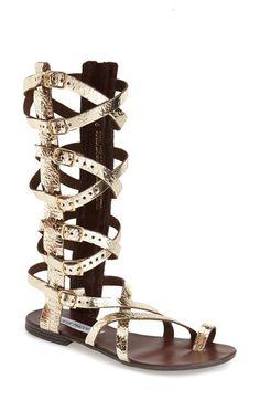 Steve Madden 'Rivaal' Tall Gladiator Sandal (Women) available at #Nordstrom