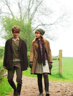 Andrew Garfield and Carey Mulligan in the film Never let me go