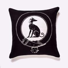 Greyhound pillow