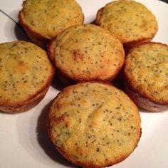 Keto Low-Carb Lemon Poppy Seed Muffins - Allrecipes.com