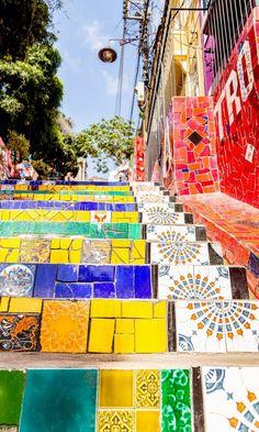 Escadaria Selaron, Rio de Janeiro | Brazil Travel Guide