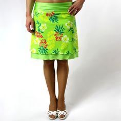 Jarní / letní sukně zelená