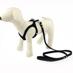 Glasses Style Adjustable Dog Harness Vest Korea Suede Leather Soft Puppy Pet Harness and Leash for Chihuahua Small Medium Animal #clothing,#shoes,#jewelry,#women,#men,#hats,#watches,#belts,#fashion,#style