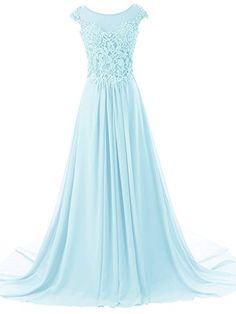JAEDEN Women's Cap Sleeves Long Chiffon Lace Evening Gown... https://www.amazon.com/dp/B01G1GR2UC/ref=cm_sw_r_pi_dp_x_6SLbybTZQJB6R