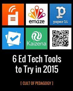 6 applicazioni web e mobile per l'apprendimento - 6 Ed Tech Tools to Try in 2015 | AulaMagazine Scuola e Tecnologie Didattiche | Scoop.it