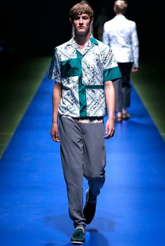 Kolor Spring 2014 Menswear - Collection - Gallery - Style.com