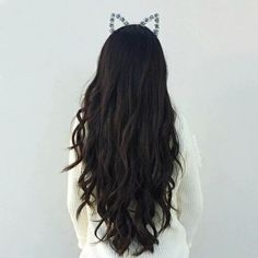 Imagem de hair, hairstyle, and long hair