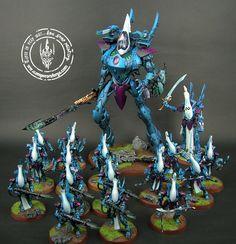 Eldar wraith host