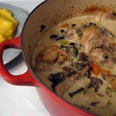 Romanian Creamed Chicken (Ciulama de pui) Recipe on Food52 recipe on Food52