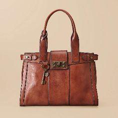 FOSSIL Handbag Silhouettes Satchel.