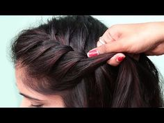Cool Hairstyles For Girls, Bun Hairstyles For Long Hair, Side Hairstyles, Latest Hairstyles, Braided Hairstyles, Wedding Hairstyles, Hairstyle For Women, Puff Hairstyle, Party Hairstyles