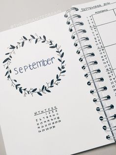 a sneak peak at my September set up as well as my new bullet journal. I'm so…