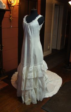 RARE Under Slip Petticoat for A Late 1870's to Early 1880's Formal Gown RARE | eBay