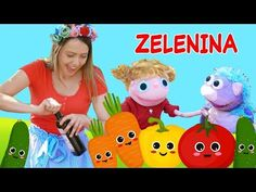 Zelenina pre deti - učíme sa s deťmi zeleninu | Robíme si šalát | Hanička a Murko - YouTube Old School, Pikachu, Education, Character, Vegetables, Vegetable Recipes, Onderwijs, Learning, Lettering