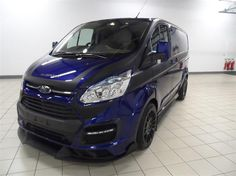 Used 2016 Ford Transit Custom 290 L1 M-SPORT Special Edition 2.2 TDCI 155ps in Deep Impact Blue with Extreme Front Difuser and Side Skirts, Full Black Rally P for sale in Bedfordshire | Pistonheads