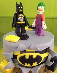 Pastel Batman y Joker de Lego