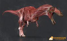 ArtStation - Acrocanthosaurus anatomy, Vitamin Imagination
