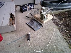 80amp stick welder made from microwave transformers