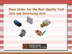 Place Order for the Best Quality #TackJets and #InterlacingJets