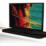 AudioXperts 4TV Audio Entertainment Consoles - a console that houses a 5.1 speaker system!