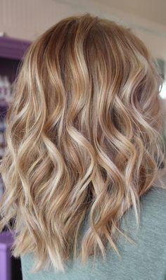 Cream Blonde Hair, Warm Blonde Hair, Blonde Hair Shades, Honey Blonde Hair, Blonde Hair Looks, Red Hair, Rose Blonde, Brown Hair, Blonde Color