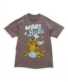 Love this Scooby-Doo 'Wake & Bake' Tee - Men on #zulily! #zulilyfinds