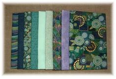 beautiful colours and advice for choosing colours for a quilt.