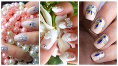 50 Ideas de uñas para novias o casamiento – Wedding nails – Parte 1 | Decoración de Uñas - Nail Art - Uñas decoradas
