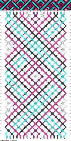 18 strings, 36 rows, 5 colors