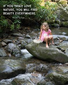 If you truly love nature, you will find beauty everywhere. — Vincent Van Gogh #OFFAlwaysOn #Sponsored #quote *Love this post on slow hiking for parents. Be intentional!