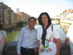 My beloved father and mother (Florence 2011)