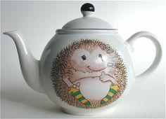 Hedgehog Teapot by Arthur Woods - okay, he's a teapot not a cookie jar, but how cute!