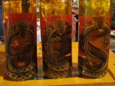 Laos Cobra Whiskey (Lao-Lao)  grew up with this! LOL