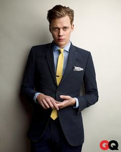 The 11 Trends We're Keeping for 2014- GQ Magazine - GQ Style - Spring / Summer Suit Wear - GQ - Bill Skarsgard