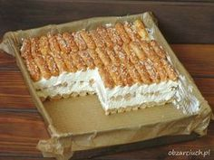Obżarciuch: Ciasto dla leniwych w 10 minut Chocolate Garnishes, Different Cakes, Cake Bars, Polish Recipes, Dessert Drinks, How Sweet Eats, No Bake Cake, Baking Recipes, Food And Drink