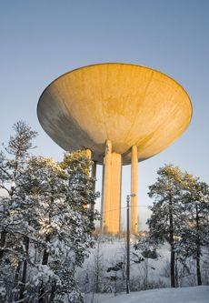Water tower, Haukilahti,Finland
